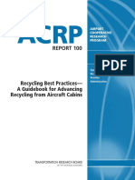 Airport Cooperative Research Program Recycling Best Parctices