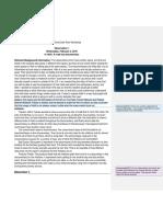 Peer Workshop Draft Assignment 1