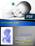 Growth & Development - INFANCY