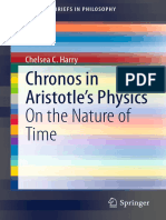 (SpringerBriefs in Philosophy) Chelsea C. Harry (auth.)-Chronos in Aristotle's Physics_ On the Nature of Time-Springer International Publishing (2015).pdf