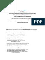 2013 Português Literatura Enunciado e Resolução