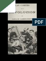 Carlos Cambronero - Las Cortes de La Revolucion