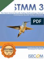 OSSTMM-3.0