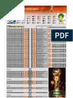 jadual World Cup 2010