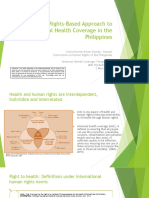 A Human Rights-Based Approach to Universal Health Coverage in the Philippines