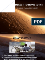 power point presentation on Direct to home (DTH)