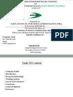 Final Report of Banco