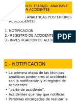 Notificacion de Accidente