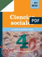 Libro Para El Docente Ciencias Sociales Segundo Ciclo de Primaria