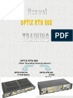 Huawei OPTIX RTN 600 TRAINING210 Presentation Basics OPTIX RTN 605 610 620
