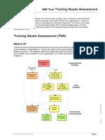 12 Training Needs Assessment