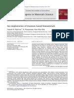 Ion implantation of titanium based biomaterials