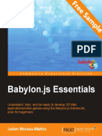 Babylon.js Essentials - Sample Chapter
