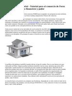 Forex Trading Tutorial - Tutorial para el comercio de Forex con apalancamiento financiero y poder