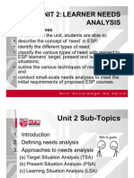 BBI3211_Unit 2 Needs Analysis 15 Nov 2009