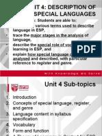 BBI3211_Unit 4 Language Description 15 Nov 2009