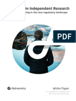 Spotlight on Independent Research – White Paper by Alphametry