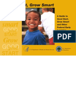 A Guide to Good Start Grow Smart and Other Federal Early Learning ...