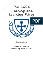 ccgs teaching and learning policy