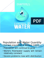 Report about water problems