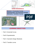 Session 2a - Horizontal Curves-Superelevation-And Geometric Design Standards(1)
