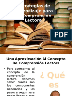 DIAPOSITIVAS COMPRENSION LECTORA 1