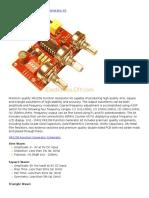 1Hz to 2 MHz Function Generator