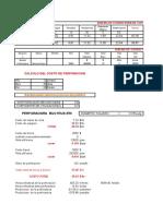 Costo Perforacion y Voladura