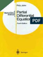 Fritz John Partial Differential Equations