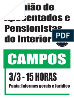 Cartaz Interior Campos