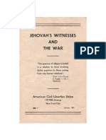 Jehovah's Witnesses and the War, 1943