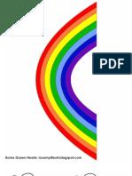 Rainbow Story Problem Visuals