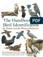 Mark Beaman, Steve Madge the Handbook of Bird Identification for Europe and the Western Palearctic