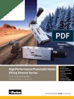 Pneumatic Valve - Viking Xtreme Series - Catalogue PDE2569TCUK