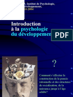 - d1 - Univ Parisv - Moutier - Introduction a La Psycho Du Dev Cognitif - c1