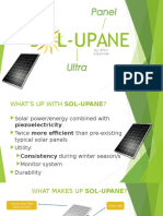 Solar Ultra Panel (Product Proposal)