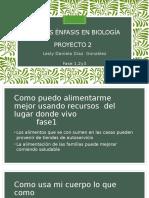 Ciencias Énfasis en Biología