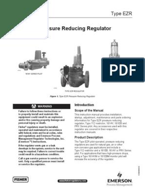 EZR Regulator | Valve | Pipe (Fluid Conveyance)
