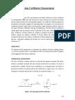Friction Coefficient Measurements