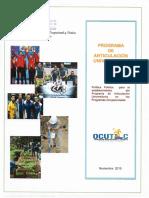Manual Programa de Articulación Universitaria Con Firmas