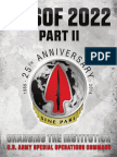 2014 ARSOF Operating Concept 2022  Part 2 - U.S. Special Operations Command