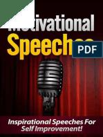Motivational Speeches