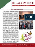 Marzo in Rosa a Borgomanero e Cureggio 2016