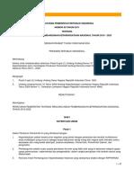 Peraturan Pemerintah NO 50 tahun 2011