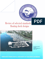 Review of Selected Standards for Floating Dock Designs