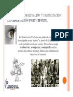 Generalidades Sobre La Observacion Participante