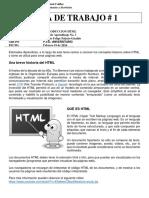 Guia No. 1 - Introduccion HTML