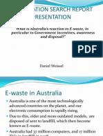 Ewaste Presentation