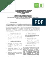 Informe 3 Corrosion