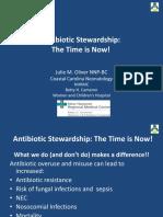 Antibiotic Stewardship PQCNC New Initiative